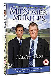Midsomer Murders - Master Class (DVD, 2010) Region 2 NEW UNSEALED