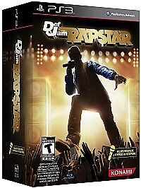 NEW-PS3-Def-Jam-Rapstar-Game-Microphone-Sony-Playstation-3-FREE-SHIPPING
