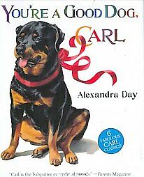 Good-Dog-Carl-Rottweiler-6-story-book-funny-kids-60-off