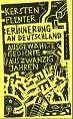 Erinnerung an Deutschland von Kersten Flenter