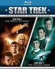 Star Trek II/Star Trek IV (Blu-ray Disc, 2011, 2-Disc Set)