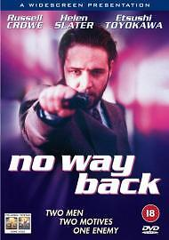 No Way Back DVD 2003 - west midlands, United Kingdom - No Way Back DVD 2003 - west midlands, United Kingdom