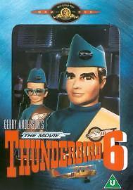 Thunderbird Six - The Movie (DVD, 2001) NEW AND SEALED REGION 2