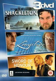 TV Drama Sword Of Honour Shackleton Longitude DVD 2001 Good DVD Cicely - Bilston, United Kingdom - Returns accepted Most purchases from business sellers are protected by the Consumer Contract Regulations 2013 which give you the right to cancel the purchase within 14 days after the day you receive the item. Find out more about  - Bilston, United Kingdom