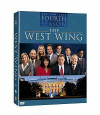 The West Wing  Series 4 DVD 2004 6Disc Set Box Set - <span itemprop=availableAtOrFrom>Burntwood, United Kingdom</span> - The West Wing  Series 4 DVD 2004 6Disc Set Box Set - Burntwood, United Kingdom