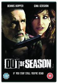 OUT OF SEASON  2008 DVD New Sealed  Fast Post  UK SELLER  DENNIS HOPPER - <span itemprop=availableAtOrFrom>Banbury, United Kingdom</span> - OUT OF SEASON  2008 DVD New Sealed  Fast Post  UK SELLER  DENNIS HOPPER - Banbury, United Kingdom