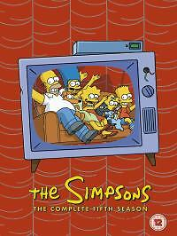 The-Simpsons-Series-5-Complete-DVD-2005-4-Disc-Set