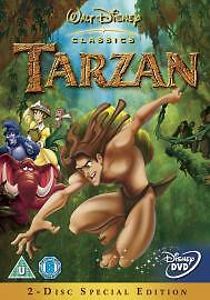Tarzan-2-Disc-Special-Edition-Disney-NEW-SEALED-DVD-Quick-Post-UK-STOCK-T