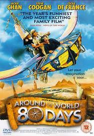 Around The World In 80 Days, Excellent DVD, Jackie Chan,Cecile De France,Steve C