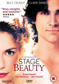 Stage Beauty DVD (2004) Claire Danes Crudup Everett Wilkinson Tapper