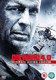 Die Hard 40 DVD 2007 2Disc Setperfect condition disks and box - <span itemprop='availableAtOrFrom'>Camborne, United Kingdom</span> - Die Hard 40 DVD 2007 2Disc Setperfect condition disks and box - Camborne, United Kingdom