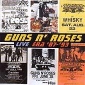 GUNS N' ROSES - Live Era '87-'93 - 22 tracks 2cds - greatest hits singles live