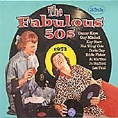 THE FABULOUS 50's  CD 24 GREATEST HITS OF 1952 - NEW AND SEALED - FREE UK POST