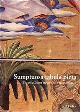 Saggi di arte, architettura e pittura multicolore in italiano della prima edizione