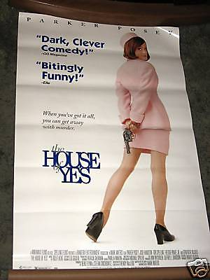 The Contain of Yes 1997 VHS Movie Poster 26x40 Parker Posey