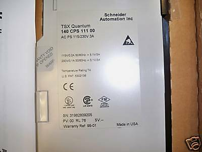 Schneider-140-CPS-111-00-TSX-Quantum-AC-PS-New