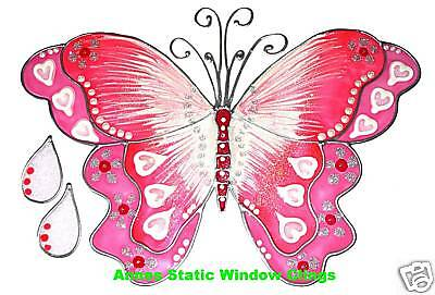 BUTTERFLY-WINDOW-CLING-STAINED-GLASS-EFFECT-DECORATION-DECAL-MOTIF-STICKAROUND