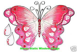 BUTTERFLY-WINDOW-CLING-STAINED-GLASS-EFFECT-DECORATION