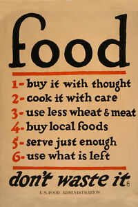 Food-Don-039-t-Waste-It-US-Food-Administration-Poster-18x12