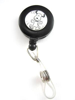 Snoopy Happy Dance Retractable Badge Holder