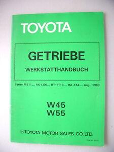 Toyota Getriebe Werkstatthandbuch W45 W55 Serien MS11.. - Eggenstein-Leopoldshafen, Deutschland - Toyota Getriebe Werkstatthandbuch W45 W55 Serien MS11.. - Eggenstein-Leopoldshafen, Deutschland