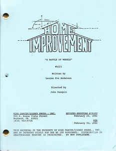 "HOME IMPROVEMENT show script ""A Battle Of Wheels"""