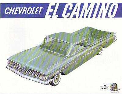 1959 El Camino Sales Brochure