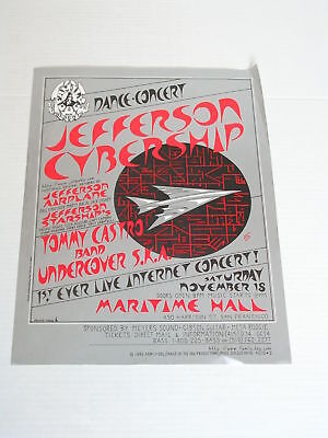 Family Dog JEFFERSON STARSHIP CONCERT POSTER by Mike Dolgushkin FD/ID-02