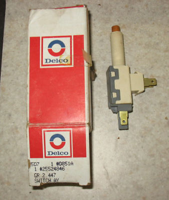 Buick Olds Pontiac Chevrolet Stop Light Switch 80-6