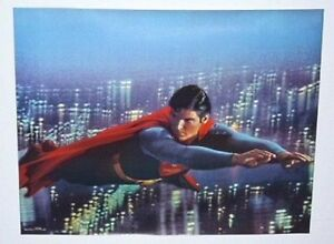 Original-vintage-1978-Christopher-Reeve-DC-Comics-Superman-movie-poster-2-1970s