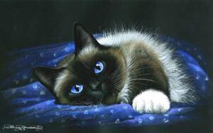 Ragdoll-Cat-Lazy-Day-by-I-Garmashova