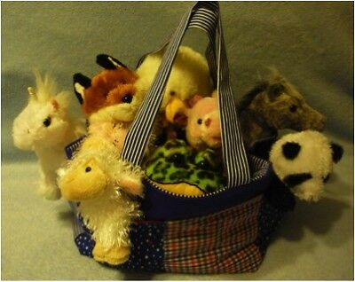 Webkinz / Ty Beanie Baby / Toy Carrier - Tote Pattern