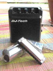 Mini-Harp-Amp-Harmonica-Amplifier-mic-blues-tone-Watch-the-Honkin-Video