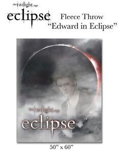 ECLIPSE-FLEECE-THROW-BLANKET-Edward-Cullen-twilight-NEW