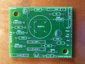 THE-WHIPPLE-PCB-wah-board-Fits-Crybaby-Vox-most-pedals