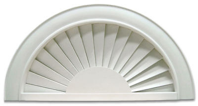 Faux Window Blind Perfect Arch 72
