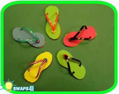 mini flip flop sandal girl scout swaps craft kit by