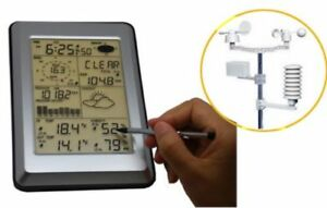 Wireless-Touch-Screen-Weather-Station-w-PC-Link-Local-Pick-Up-Only