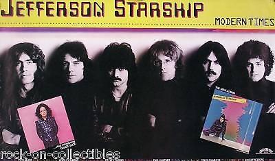 Jefferson Starship 1981 Modern Times Promo Poster Original