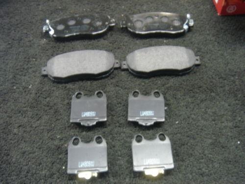 LEXUS IS200 SC430 IS300 BRAKE PADS FRONT & REAR NEW
