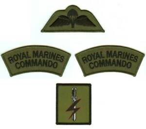 SPECIAL FORCES SUPPORT GROUP SFSG Royal Marine Badges