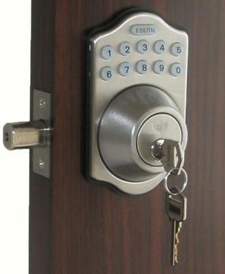 Lockey Digital Keyless Electronic Deadbolt Door Lock Sn E-910 Lot Of 6 Locks