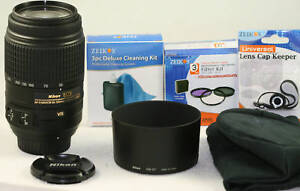 Nikon-VR-55-300mm-ED-G-LENS-KIT-For-D80-D40-D60-D90-D300-D5100-D3100-D300S-D70