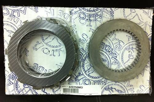 Alto Replacement Clutch Plates Set For All Ultima 2 Open Belt Drives