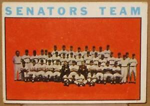 1964-TOPPS-WASHINGTON-SENATORS-TEAM-CARD-343