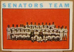 1964-TOPPS-WASHINGTON-SENATORS-TEAM-CARD-343