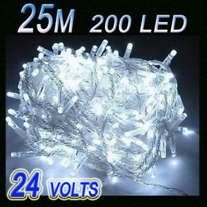 25M-200-LED-CHRISTMAS-PARTY-FAIRY-STRING-LIGHTS-White
