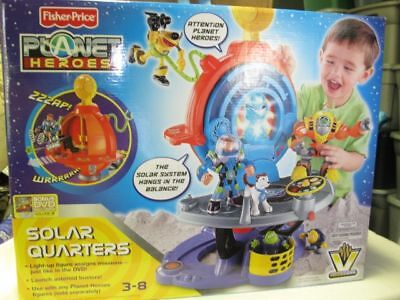 New-fisher Price Planet Heroes Solar Quarters