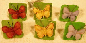Lot-Set-of-6-New-Butterfly-Drawer-Cabinet-Knob-Pull