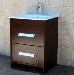 Image Is Loading 24 034 Bathroom Vanity 24 Inch Cabinet Ceramic
